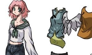 Naruto Girls Dress Up 2