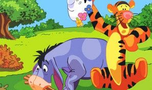 Original game title: Tigger and Eeyore Puzzle