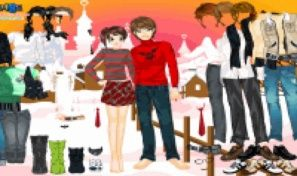 Original game title: Sweet Couple Dress Up