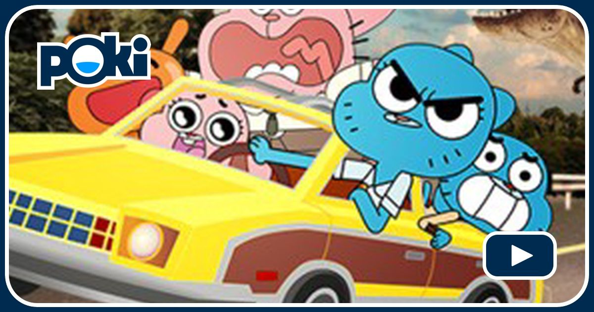 Wheels Of Rage The Amazing World Of Gumball