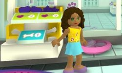 Lego Friends Tiersalon