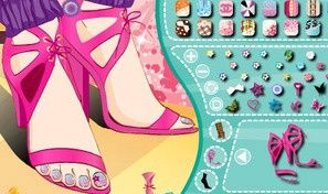 Original game title: Nice Toes