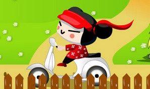 Original game title: Pucca Ride