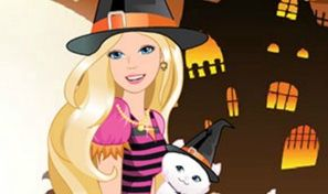 Original game title: Barbie in Halloween