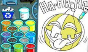Original game title: Creepy Coloring