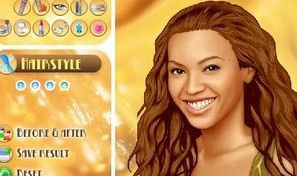 Original game title: Beyonce Make Over