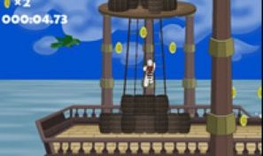 James the Pirate Zebra