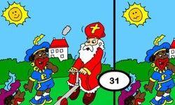 Zoek De Verschillen: Sinterklaas