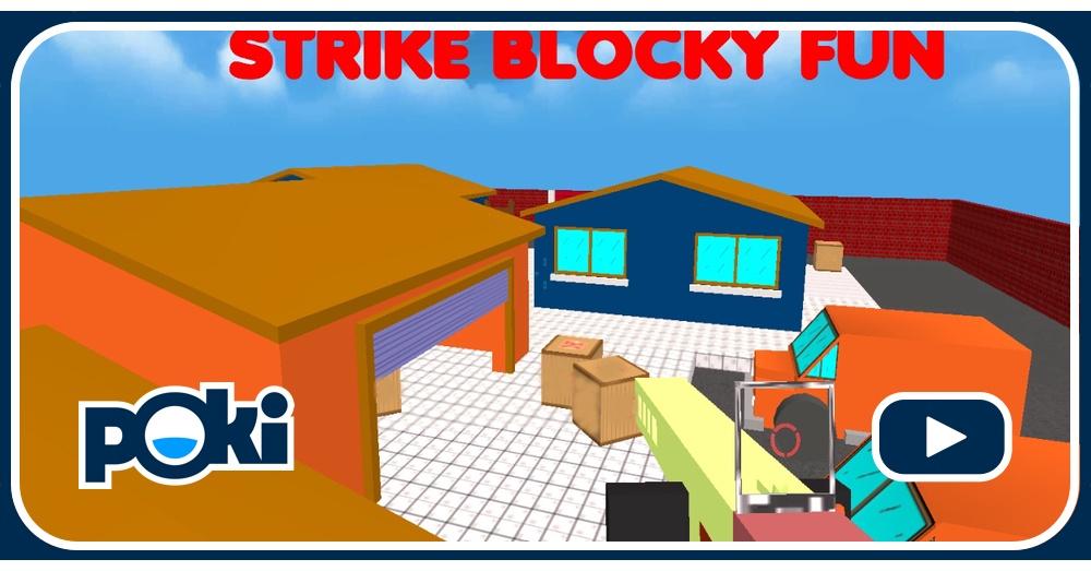 Jogo Strike Blocky Fun