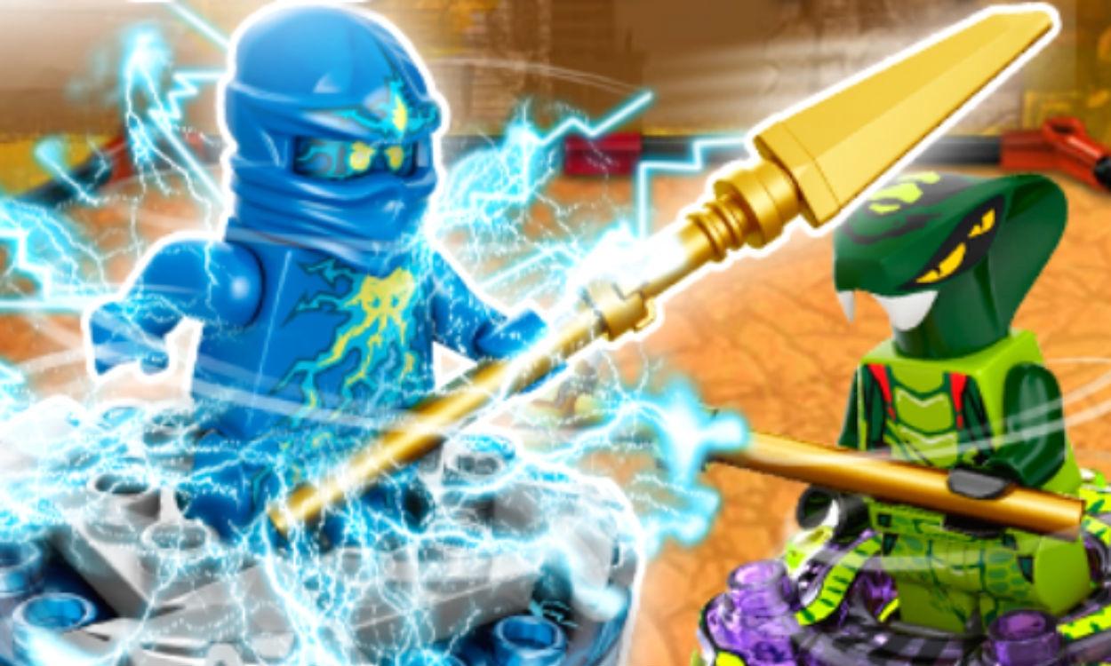 Ninjago Spel Gratis Online