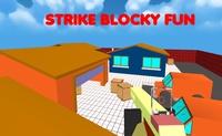 Strike Blocky Fun Grátis no Poki