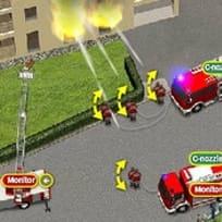 Tűzoltóautós Bevetés