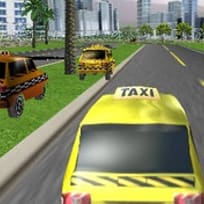 3D Такси Състезание