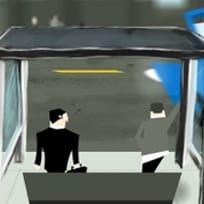 Otobüs Durağında Osuruk 2