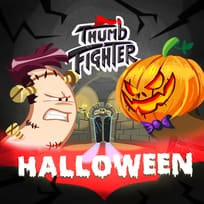 Thumb Fighter Halloween