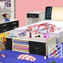 Почистете Разхвърляната Спалня