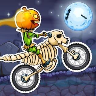 Moto X3m Spooky Land Juega Moto X3m Spooky Land En Pais De Los Juegos Poki