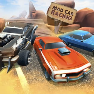 Mad Car Racing Play Mad Car Racing On Poki