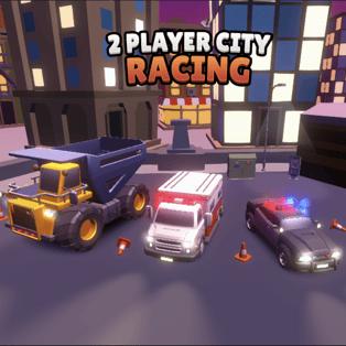 2 Player City Racing Play 2 Player City Racing On Poki