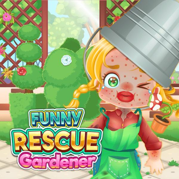 Funny Rescue Gardener Play Funny Rescue Gardener On Poki
