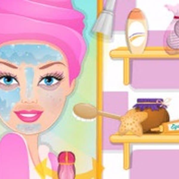 barbie smink spel