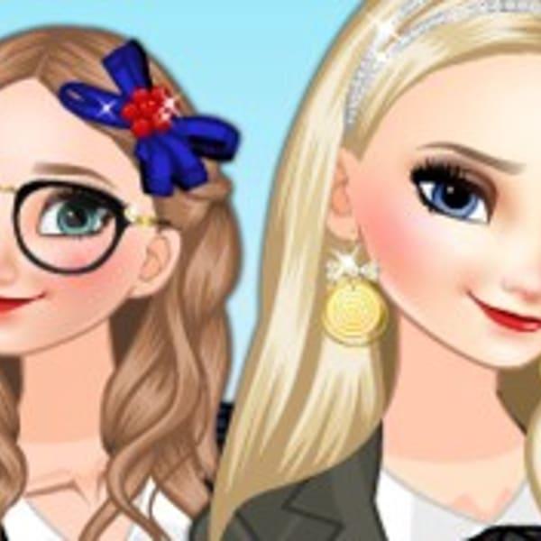 Vestir noiva Anna Frozen Jogos para Meninas