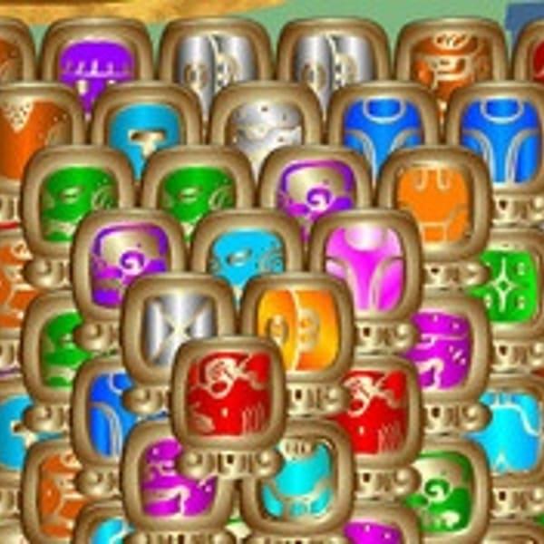 MAYA MAHJONG 2 - Spela Maya Mahjong 2 på MegaSpel