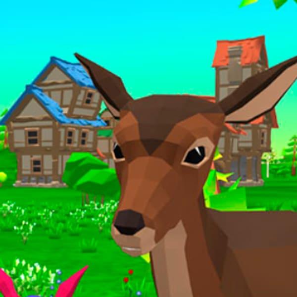 Deer Simulator Play Deer Simulator On Poki