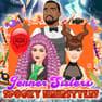 Jenner Sisters Spooky Hair