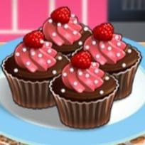 Cocina con Sara: Cupcakes de Chocolate y Frambuesa
