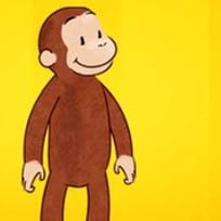 Curious George Matching Letters