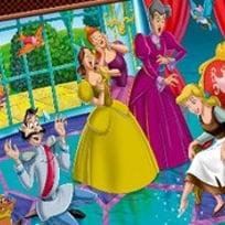 Cinderella Online Coloring