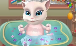 TALKING TOM GAMES - Play Free Talking Tom Games at Poki com!
