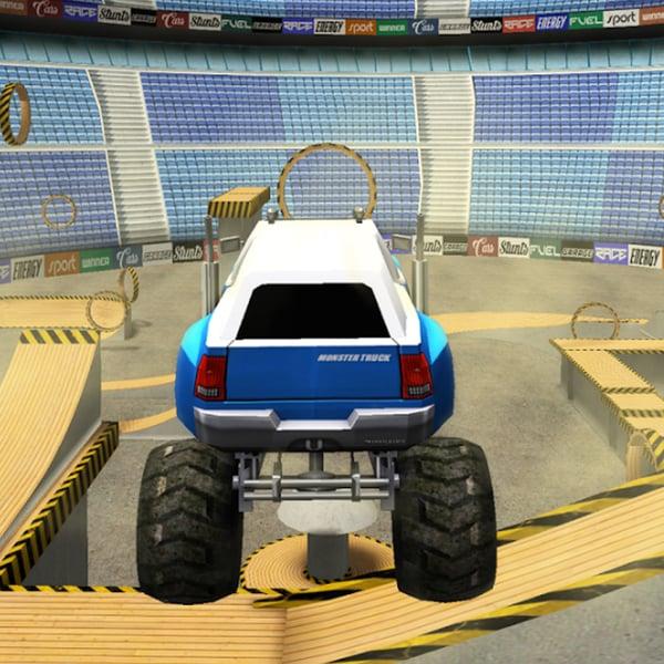 MONSTER TRUCK 3D ARENA STUNTS Online - Play for Free on Poki