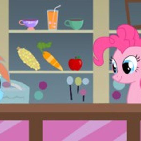 Speel Pinkie Pie At The Shop