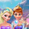 Anna & Elsa Makeover