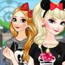 Las Hermanas de Frozen en Disneylandia