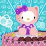 Decoración de Torta de Hello Kitty