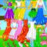 Shiney Princess Dress up 4