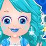Vestir a Baby Hazel Como una Princesa de Hielo