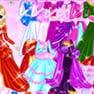 Shiney Princess Dress Up