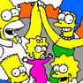 Coloreando a los Simpsons